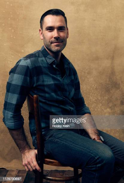 Director Jacob Hamilton of the film 'Jump Shot' poses for a portrait at the 2019 SXSW Film Festival Portrait Studio on March 10 2019 in Austin Texas