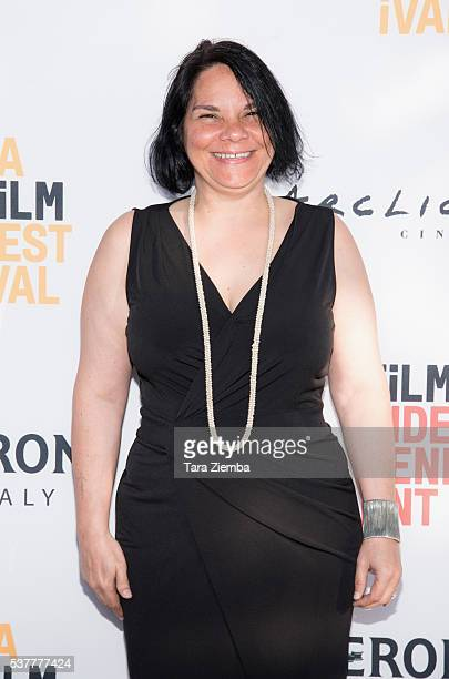 """Director Jacqueline Gares attends the premiere of """"FREE Cece!"""" at Arclight Cinemas Culver City on June 2, 2016 in Culver City, California."""