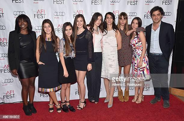 AFI FEST Director Jacqueline Lyanga actresses Doga Zeynep Doguslu Gunes Nezihe Sensoy Ilayda Akdogan Tugba Sunguroglu director Deniz Erguven writer...