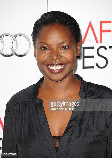 Director Jacqueline Lyanga arrives at the Holy Motors special screening during the 2012 AFI Fest at Grauman's Chinese Theatre on November 3 2012 in...