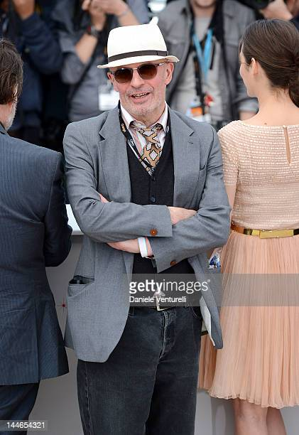 """Director Jacques Audiard attends the """"De Rouille et D'os"""" Photocall during the 65th Annual Cannes Film Festival at Palais des Festivals on May 17,..."""