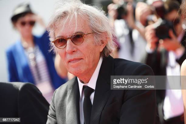 Director Jacques Doillon attends the 'Rodin' premiere during the 70th annual Cannes Film Festival at Palais des Festivals on May 24 2017 in Cannes...