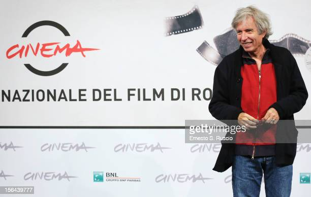 Director Jacques Doillon attends the 'Un Enfant De Toi' Photocall during the 7th Rome Film Festival at the Auditorium Parco Della Musica on November...