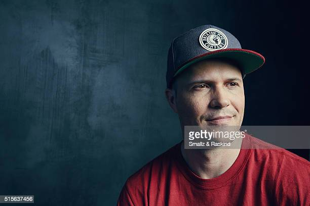 Director Jake Oelman of 'Learning To See' is photographed in the Getty Images SXSW Portrait Studio powered by Samsung at the Samsung Studio on March...