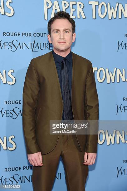 Director Jake Schreier attends the New York premiere of Paper Towns at AMC Loews Lincoln Square on July 21 2015 in New York City