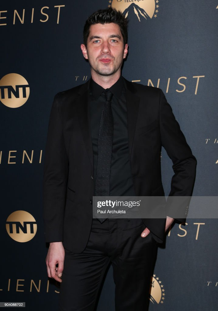 Director Jakob Verbruggen attends the premiere of TNT's 'The Alienist' at The Paramount Lot on January 11, 2018 in Hollywood, California.