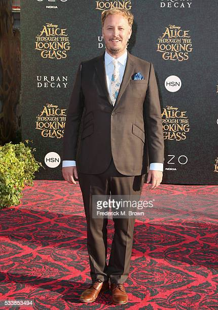 Director James Bobin attend the premiere of Disney's Alice Through The Looking Glass at the El Capitan Theatre on May 23 2016 in Hollywood California