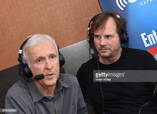 Director James Cameron and actor Bill Paxton attend SiriusXM's Entertainment Weekly Radio Channel Broadcasts From Comic-Con 2016 at Hard Rock Hotel...