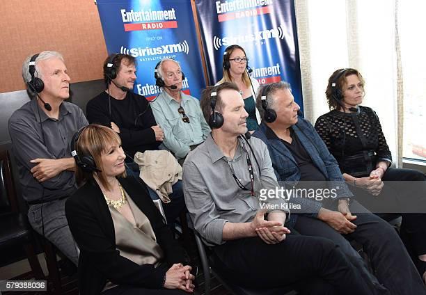 Director James Cameron and actors Bill Paxton, Lance Henriksen, Carrie Henn, Gale Anne Hurd, Michael Biehn, Paul Reiser and Sigourney Weaver attend...