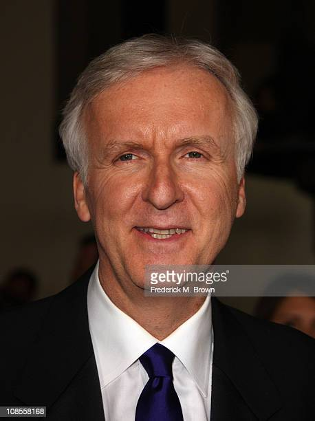 Director James Cameron arrives at the 63rd Annual Directors Guild Of America Awards held at the Grand Ballroom at Hollywood Highland on January 29...