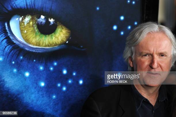 Director James Cameron arrives at the premiere of Avatar at the Grauman's Chinese Theatre in the Hollywood section of Los Angeles California on...