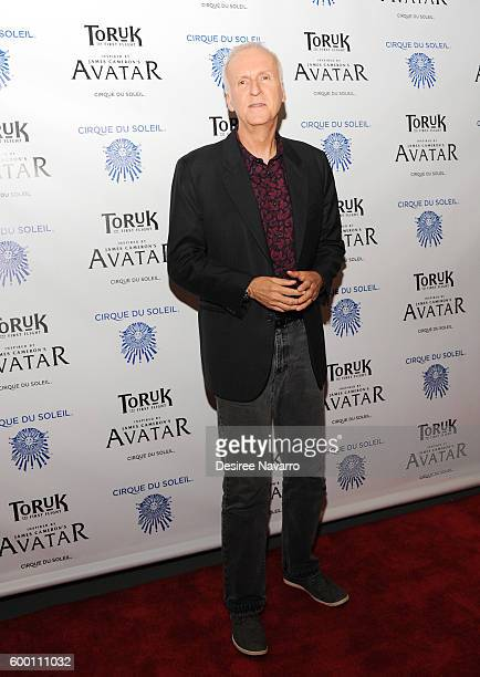 Director James Cameron attends Cirque Du Soleil's 'Toruk' New York Premeire at Barclays Center on September 7 2016 in New York City
