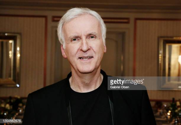Director James Cameron attends Red Carpet Green Dress at the Private Residence of Jonas Tahlin CEO of Absolut Elyx on February 06 2020 in Los Angeles...