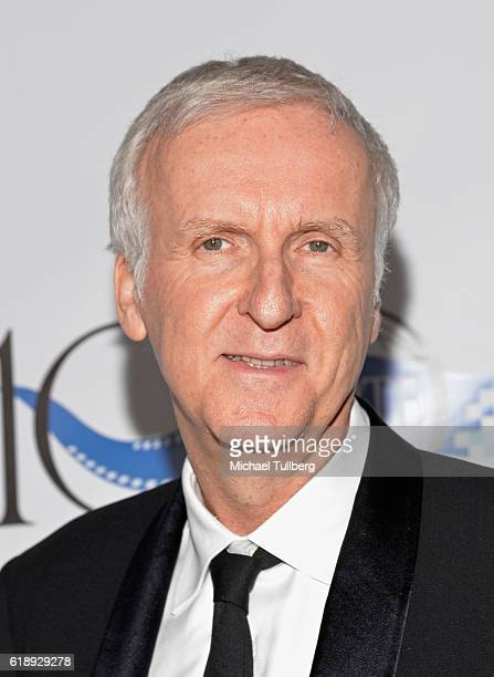 Director James Cameron attends SMPTE's 100th Anniversary Celebration at The Ray Dolby Ballroom at Hollywood Highland Center on October 28 2016 in...