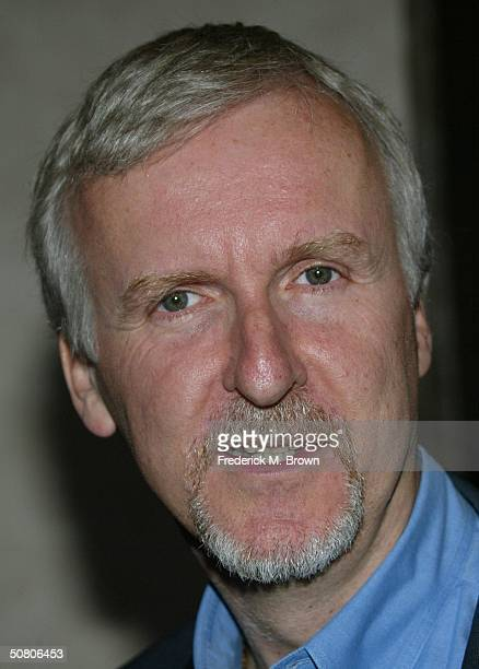 Director James Cameron attends the 30th Annual Saturn Awards at the Sheraton Universal Hotel on May 5, 2004 in Universal City, California. The event...