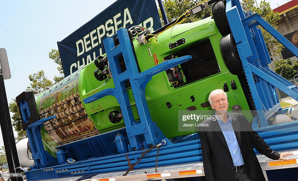Director James Cameron attends the Deepsea Challenger photocall at California Science Center on June 1, 2013 in Los Angeles, California.