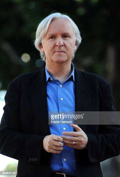 Director James Cameron is honored with a star on the Hollywood Walk of Fame on December 18 2009 in Hollywood California