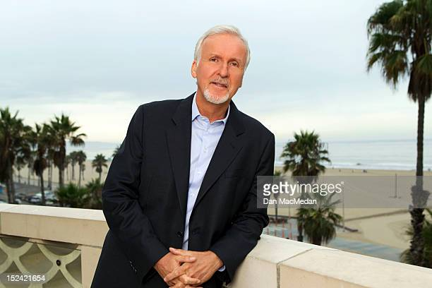 Director James Cameron is photographed for USA Today on September 5 2012 in Santa Monica California