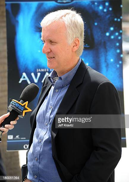 Director James Cameron plants first tree in North America symbolizing the one million tree initiative on behalf of the Avatar Bluray disc and DVD...