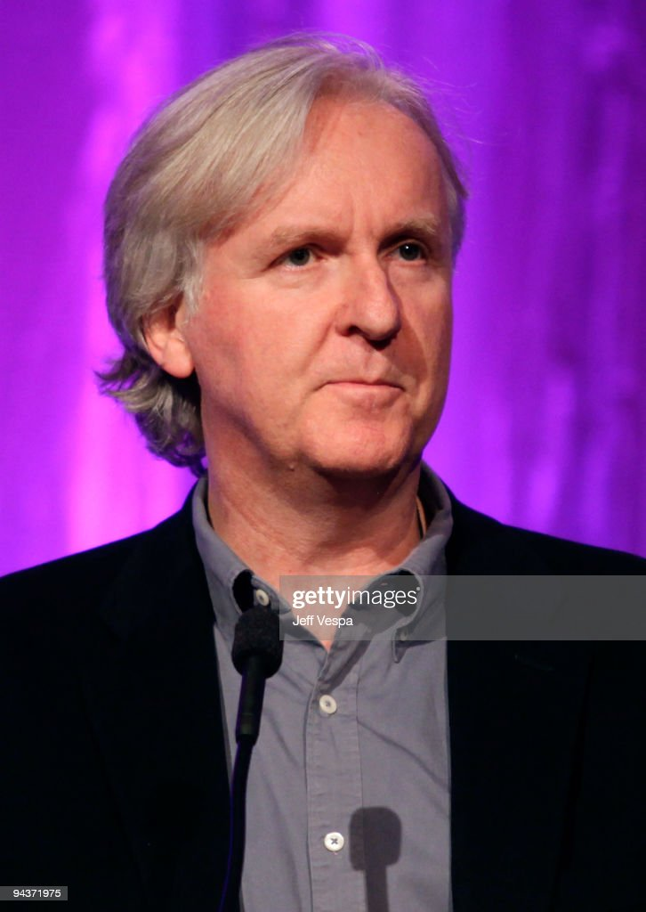 Director James Cameron speaks at Variety's 1st Annual Power of Women Luncheon at the Beverly Wilshire Hotel on September 24, 2009 in Beverly Hills, California.