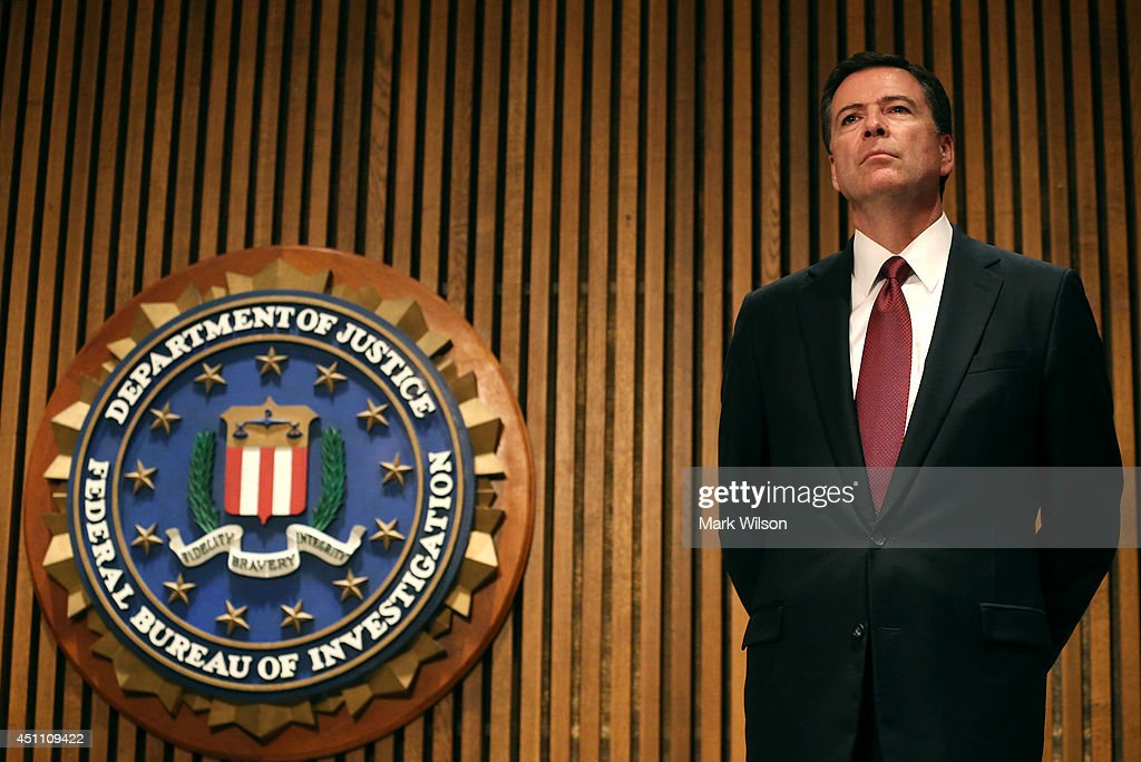 FBI Director Comey Announces Crackdown On Commercial Child Sex Trafficking : News Photo