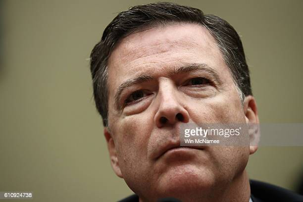 I Director James Comey testifies before the House Judiciary Committee September 28 2016 in Washington DC Comey testified on a variety of subjects...