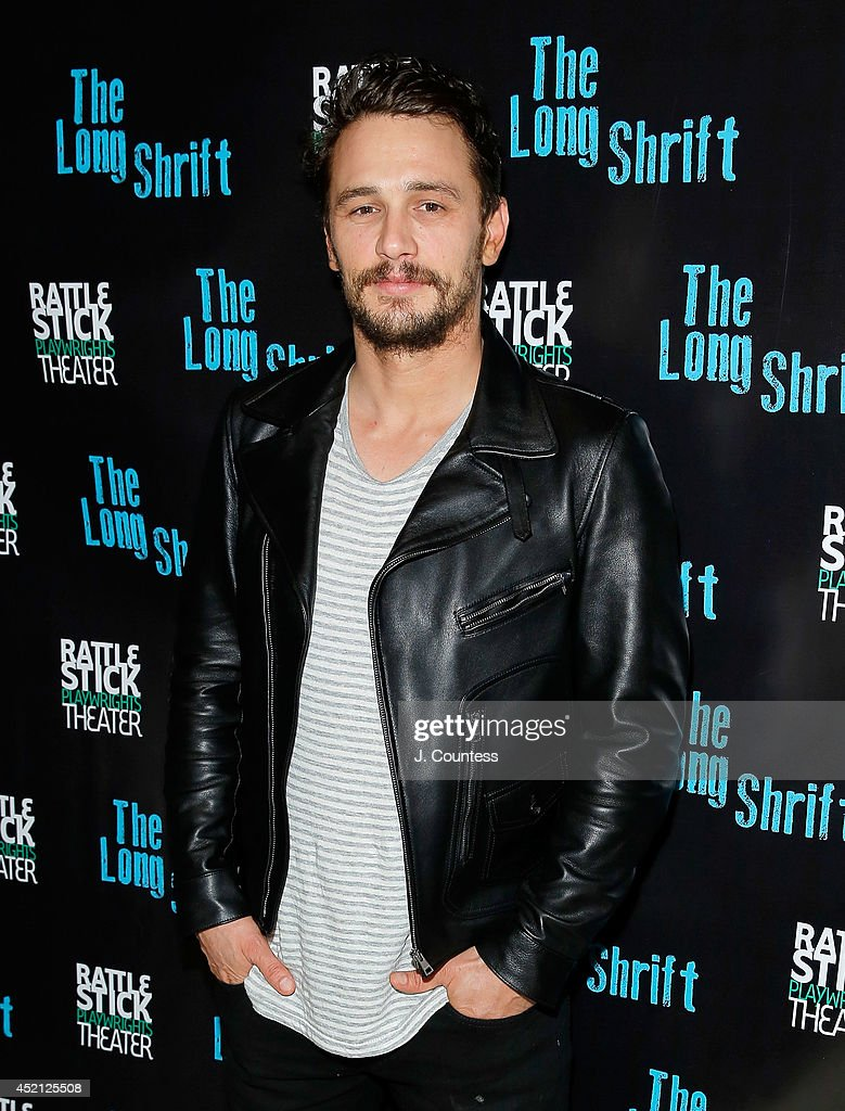 Director James Franco attends 'The Long Shrift' after party at Rattlestick Playwrights Theater on July 13, 2014 in New York City.