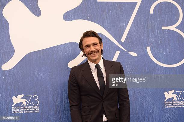 """Director James Franco attends the photocall of the movie """"In Dubious Battle"""" presented out of competition at the 73rd Venice Film Festival on..."""