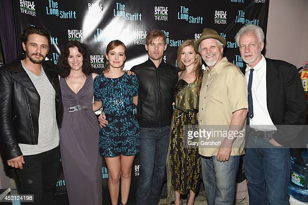 Director James Franco cast members Ally Sheedy Ahna O'Reilly Scott Haze Allie Gallerani Brain Lally and playwright Robert Boswell attend the after...