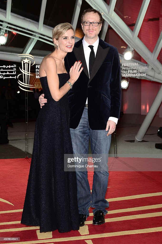 Director James Gray and Melita Toscan du Plantier attend the 'Like Father, Like Son' premiere during the 13th Marrakech International Film Festival on December 1, 2013 in Marrakech, Morocco.