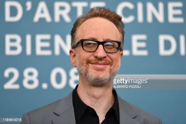 US director James Gray attends a photocall on August 29 2019 for the film Ad Astra during the 76th Venice Film Festival at Venice Lido
