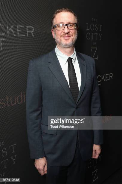 Director James Gray attends the Amazon Studios and Bleecker Street special screening with Explorer's Club of James Gray's THE LOST CITY OF Z on April...
