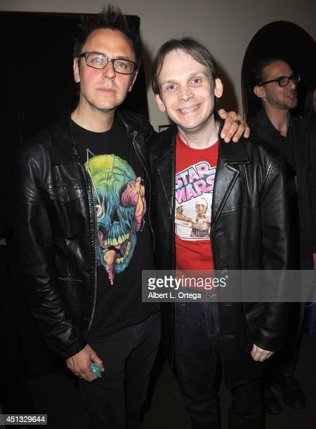Director James Gunn and Huston Huddleston attend the After Party for the 40th Annual Saturn Awards held at on June 26 2014 in Burbank California