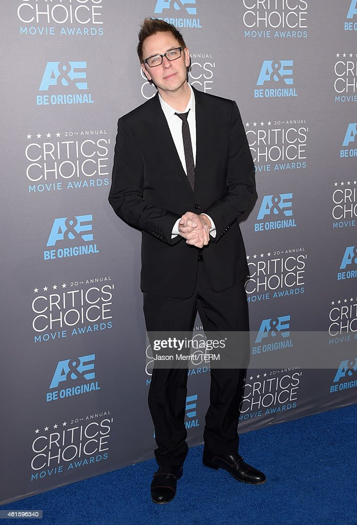 Director James Gunn attends the 20th annual Critics' Choice Movie Awards at the Hollywood Palladium on January 15, 2015 in Los Angeles, California.