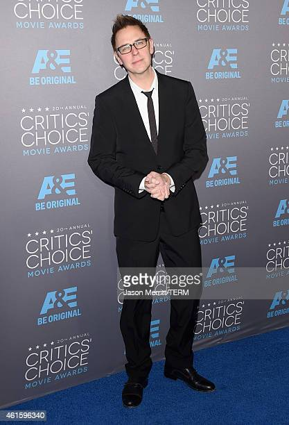 Director James Gunn attends the 20th annual Critics' Choice Movie Awards at the Hollywood Palladium on January 15 2015 in Los Angeles California