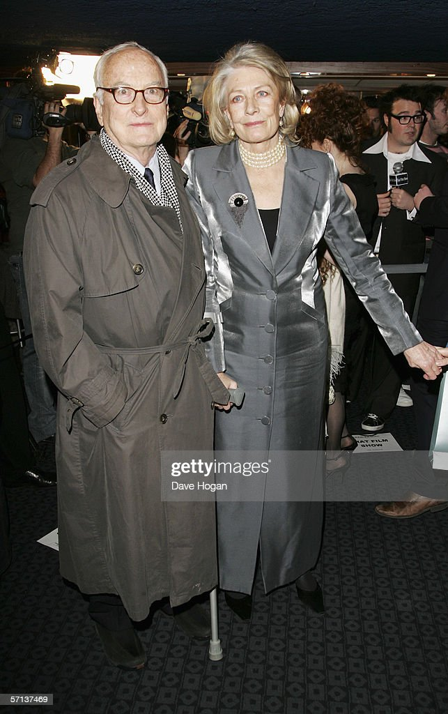 Director James Ivory and actress Vanessa Redgrave arrive at the UK Premiere of 'The White Countess' at the Curzon Mayfair on March 19, 2006 in London, England.