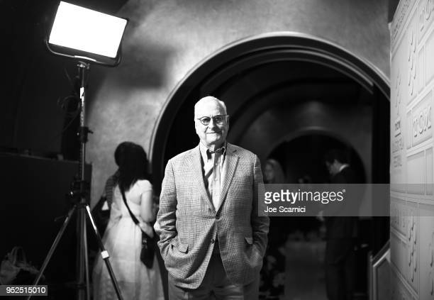 Director James Ivory attends the screening of 'Maurice' during day 3 of the 2018 TCM Classic Film Festival on April 28 2018 in Hollywood California...