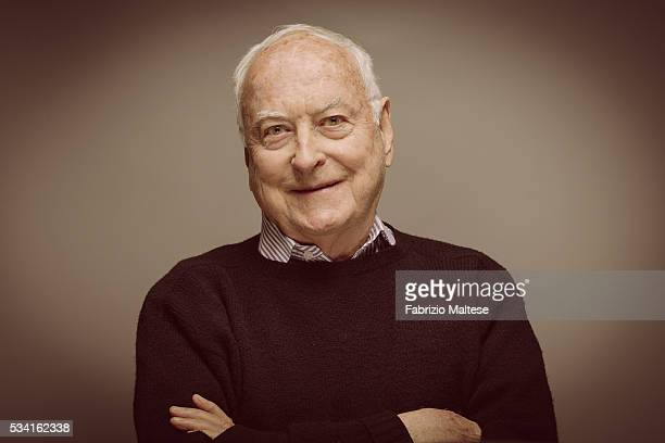 Director James Ivory is photographed for The Hollywood Reporter on May 14 2016 in Cannes France