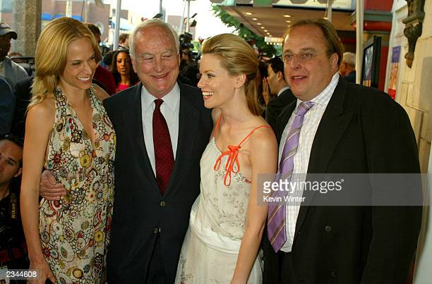 Director James Ivory with guest actress Elizabeth Banks and producer Richard Hawley attend the premiere of the film Le Divorce at the Mann's Festival...