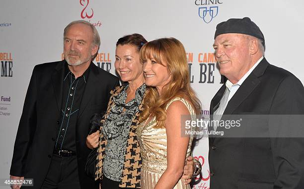 Director James Keach guest and actors Jane Seymour and Stacy Keach attend the premiere of the film Glen CampbellI'll Be Me at Pacific Design Center...