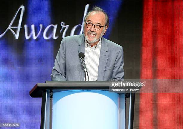 Director James L. Brooks accepts the TCA Career Achievement Award onstage during the 31st annual Television Critics Association Awards at The Beverly...