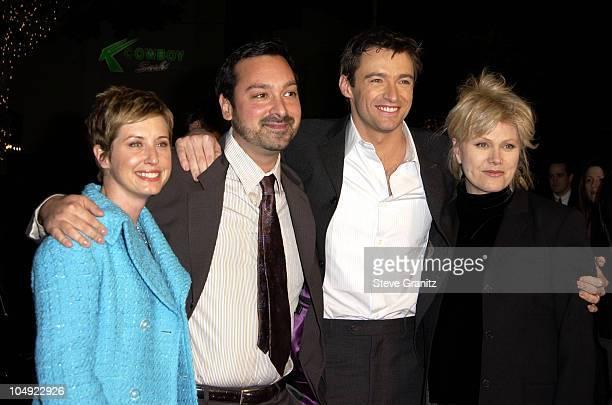 Director James Mangold, Hugh Jackman & Wife Deborra-Lee Furness