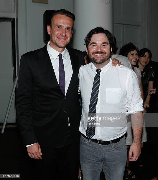 """Director James Ponsoldt and Jason Segel attend """"The End Of The Tour"""" Opening Night Screening - After Party - BAMcinemaFest 2015 at Brooklyn Masonic..."""
