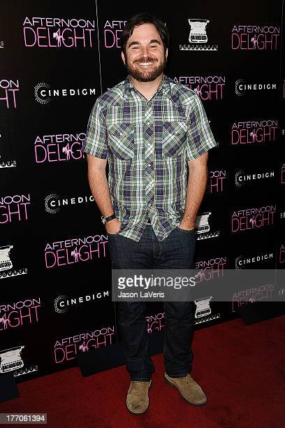 Director James Ponsoldt attends the premiere of 'Afternoon Delight' at ArcLight Hollywood on August 19 2013 in Hollywood California