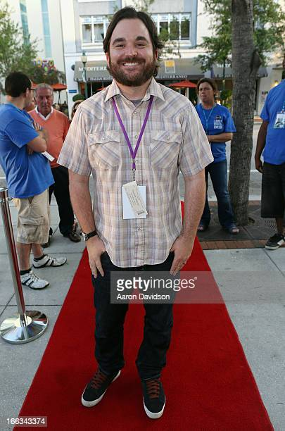 Director James Ponsoldt walks the red carpet for the Centerpiece Film The Spectacular Now during the Sarasota Film Festival 2013 at Regal Hollywood...