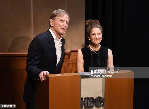 Director James Redford and Redford Center Executive Director Jill Tidman introduce the HBO Documentary Films NY Premiere of HAPPENING A CLEAN ENERGY...