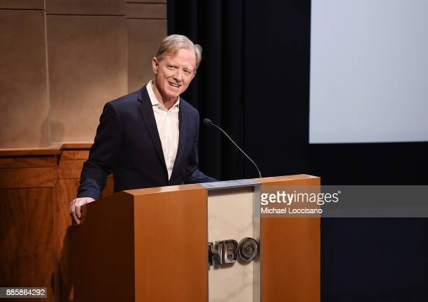 Director James Redford introduces the HBO Documentary Films NY Premiere of HAPPENING A CLEAN ENERGY REVOLUTION on December 4 2017 in New York City