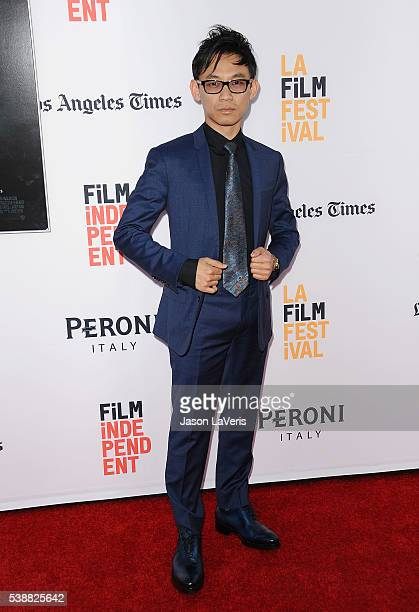 Director James Wan attends the premiere of The Conjuring 2 at the 2016 Los Angeles Film Festival at TCL Chinese Theatre IMAX on June 7 2016 in...