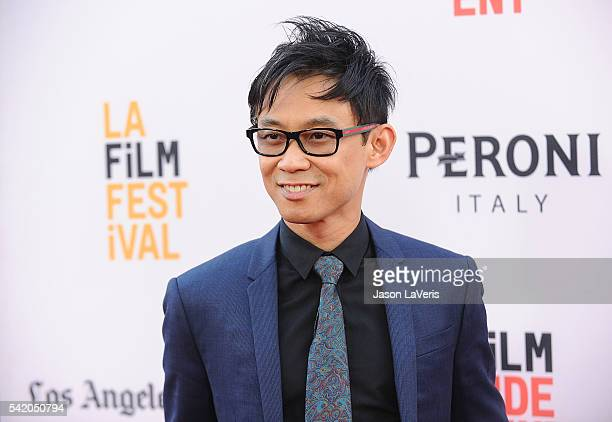 """Director James Wan attends the premiere of """"The Conjuring 2"""" at the 2016 Los Angeles Film Festival at TCL Chinese Theatre IMAX on June 7, 2016 in..."""