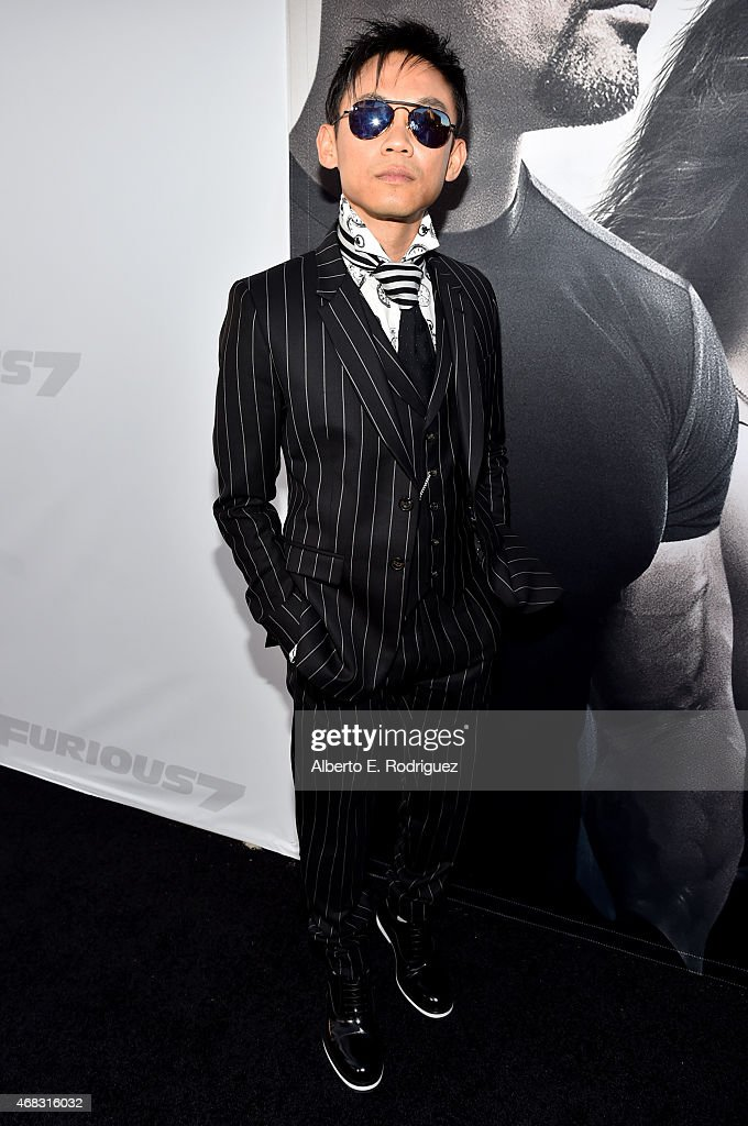Director James Wan attends Universal Pictures' 'Furious 7' premiere at TCL Chinese Theatre on April 1, 2015 in Hollywood, California.